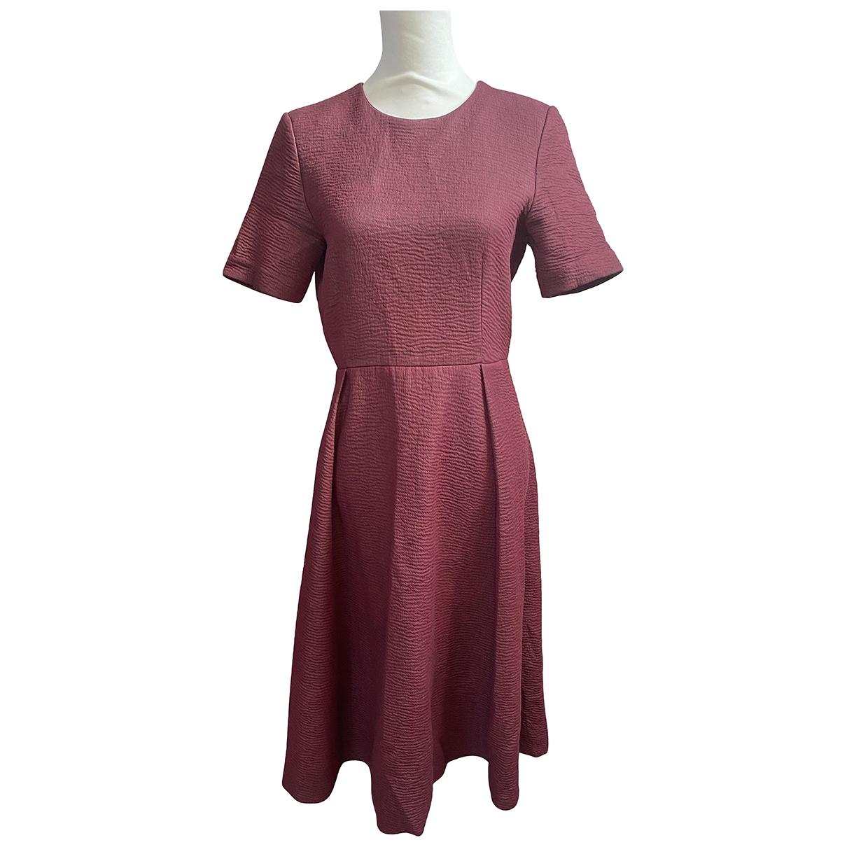 Cos \N Kleid in  Bordeauxrot Baumwolle
