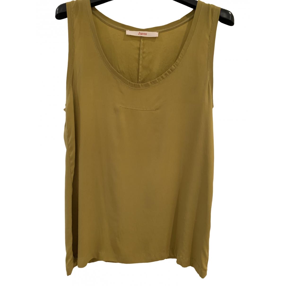Jucca \N Green Silk  top for Women 42 IT