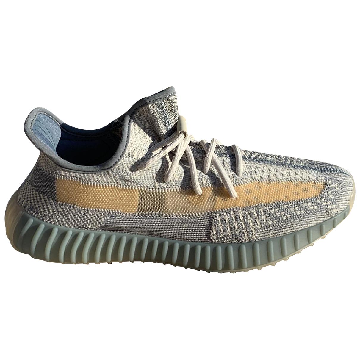 Yeezy X Adidas - Baskets Boost 350 V2 pour homme en toile - gris