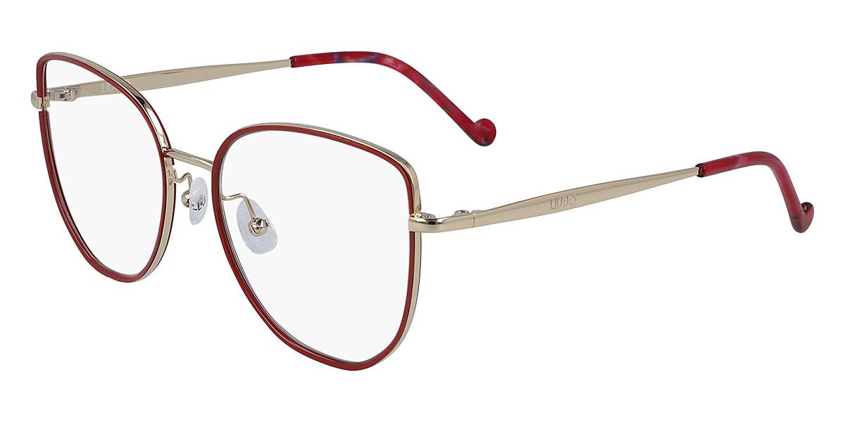Liu Jo LJ2149 714 Women's Glasses Red Size 53 - Free Lenses - HSA/FSA Insurance - Blue Light Block Available