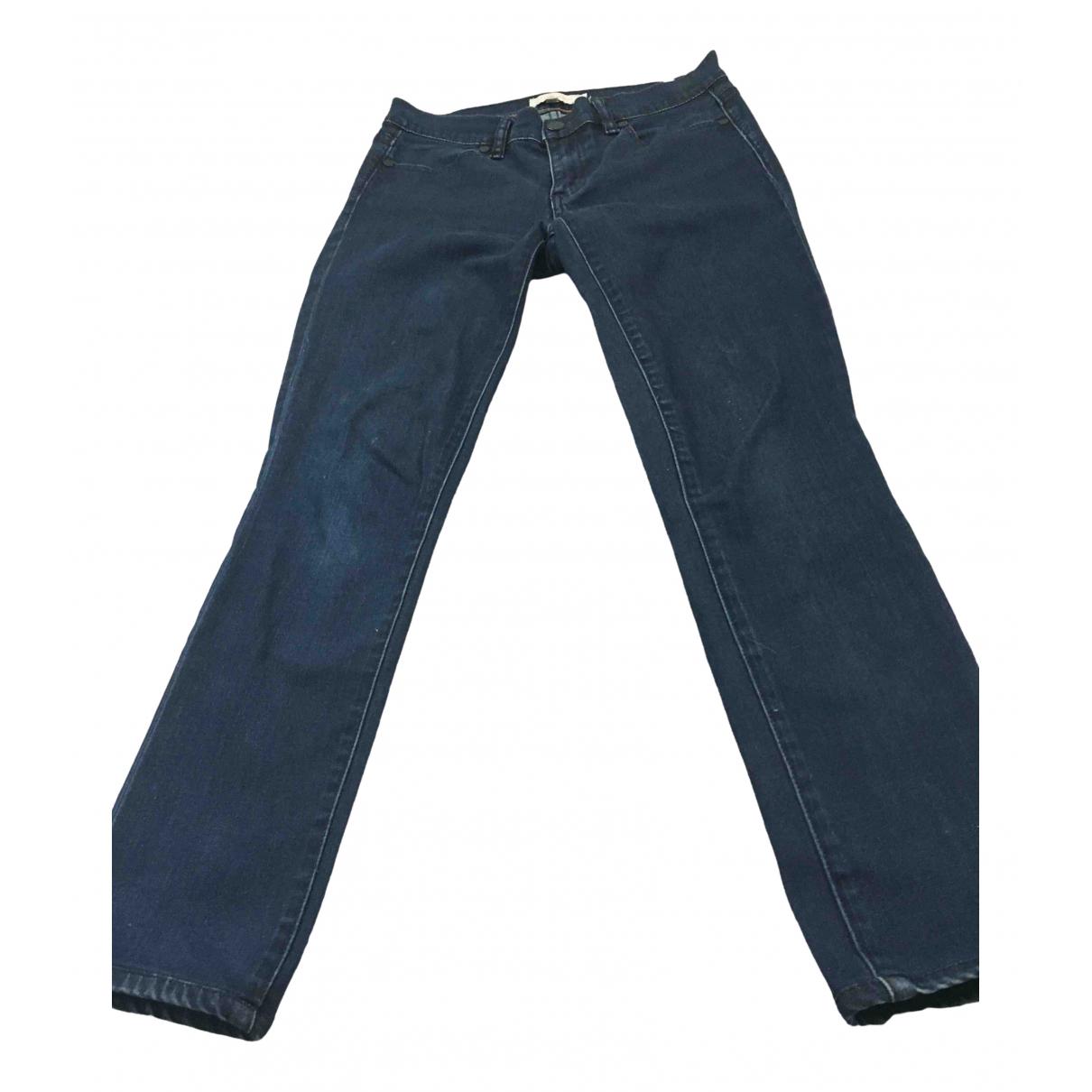 Tory Burch \N Navy Denim - Jeans Jeans for Women 26 US