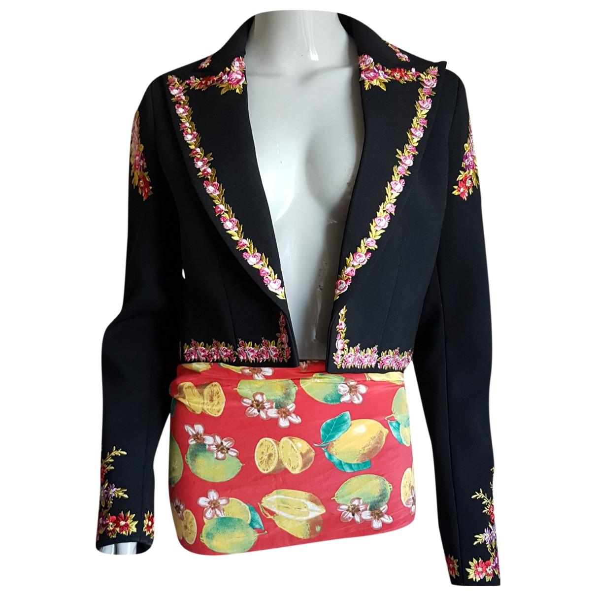 Giambattista Valli X H&m N Black jacket for Women 36 FR