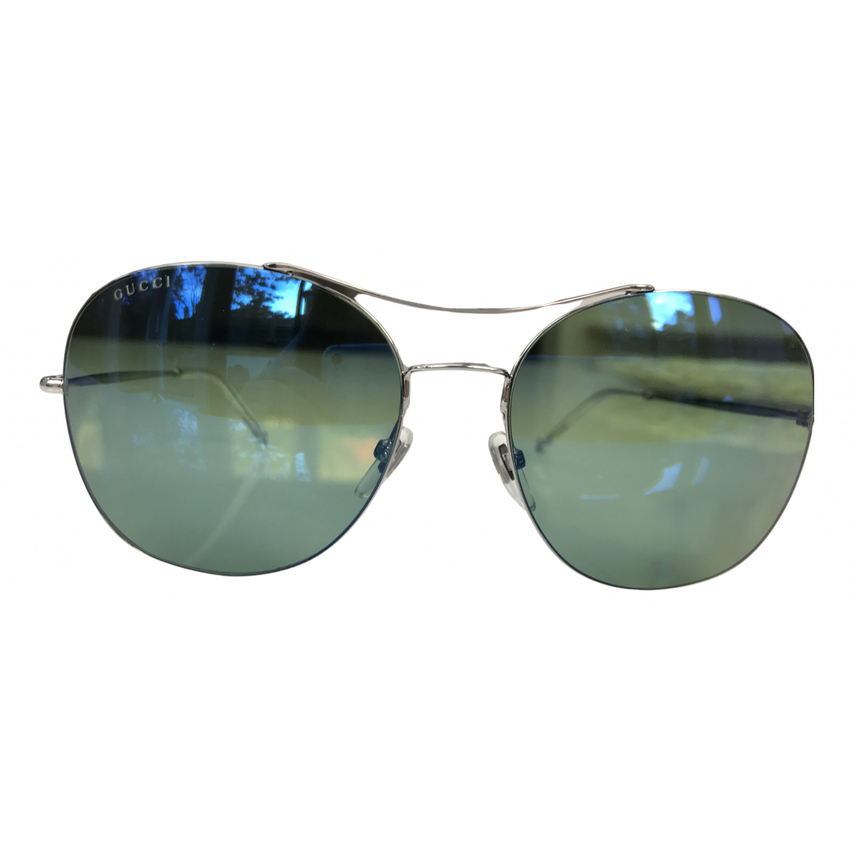 Gucci N Blue Metal Sunglasses for Women N