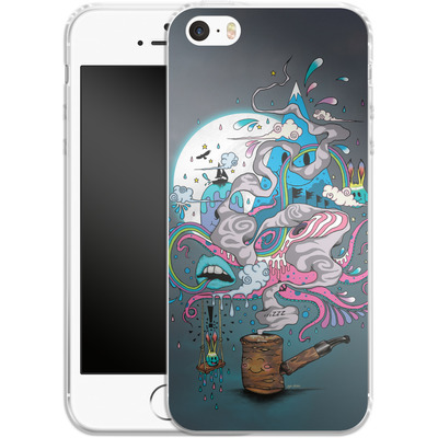 Apple iPhone SE Silikon Handyhuelle - Pipe Dreams von Mat Miller