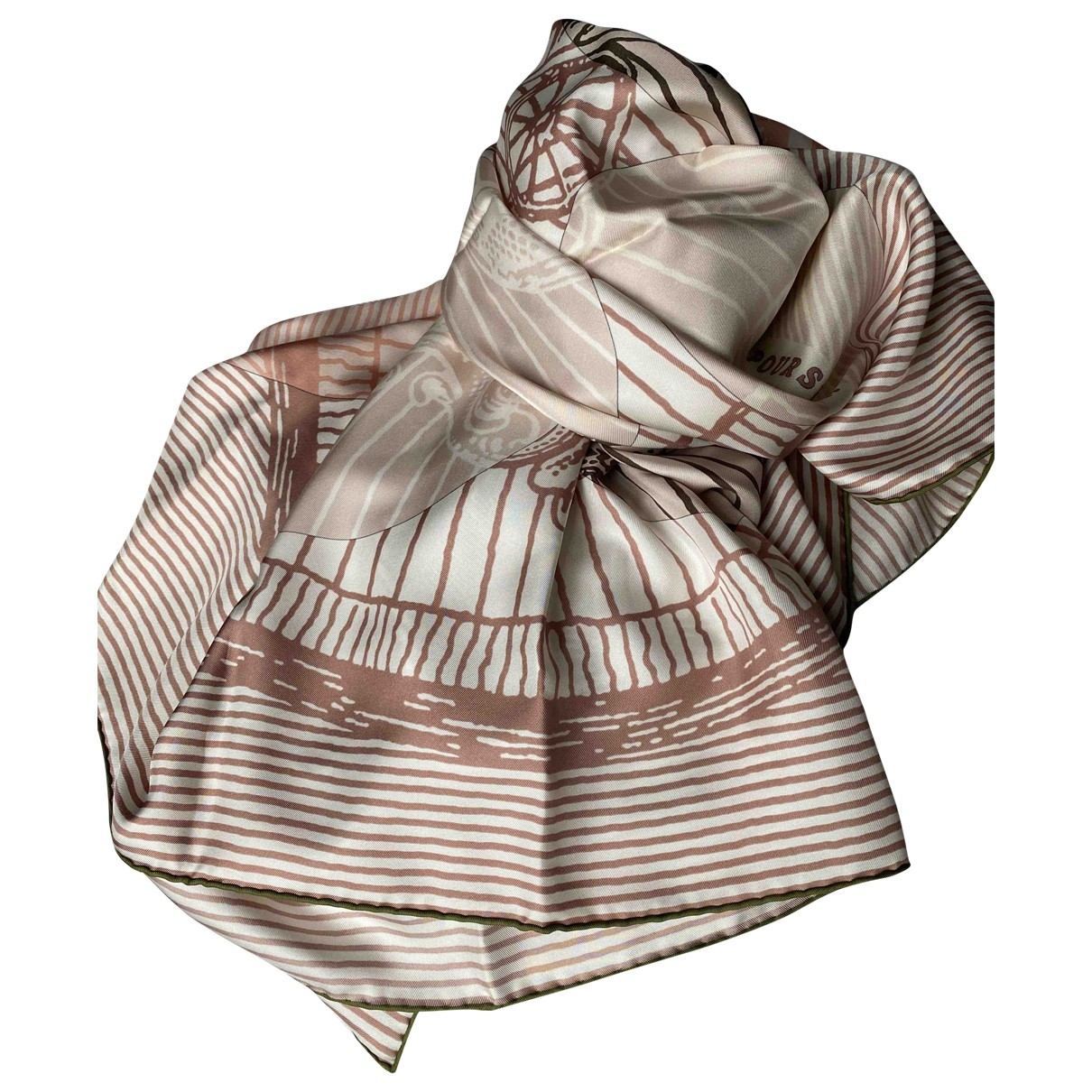 Estola Carre Geant silk de Seda Hermes