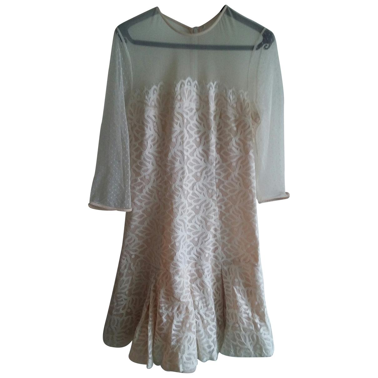 Sandro \N Beige dress for Women 2 0-5