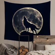 Animal & Moon Print Tapestry