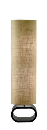 1520-18 Harmony Floor Lamp  Painted Mdf Walnut Finish  Medium Brown