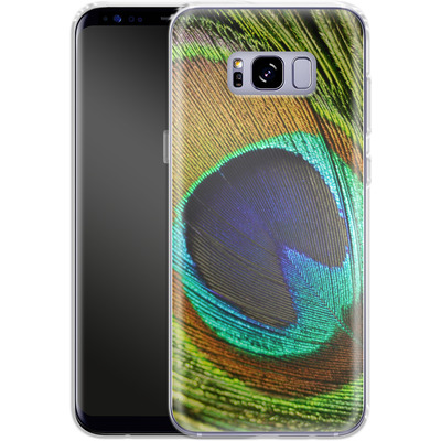 Samsung Galaxy S8 Plus Silikon Handyhuelle - Peacock von Mark Ashkenazi