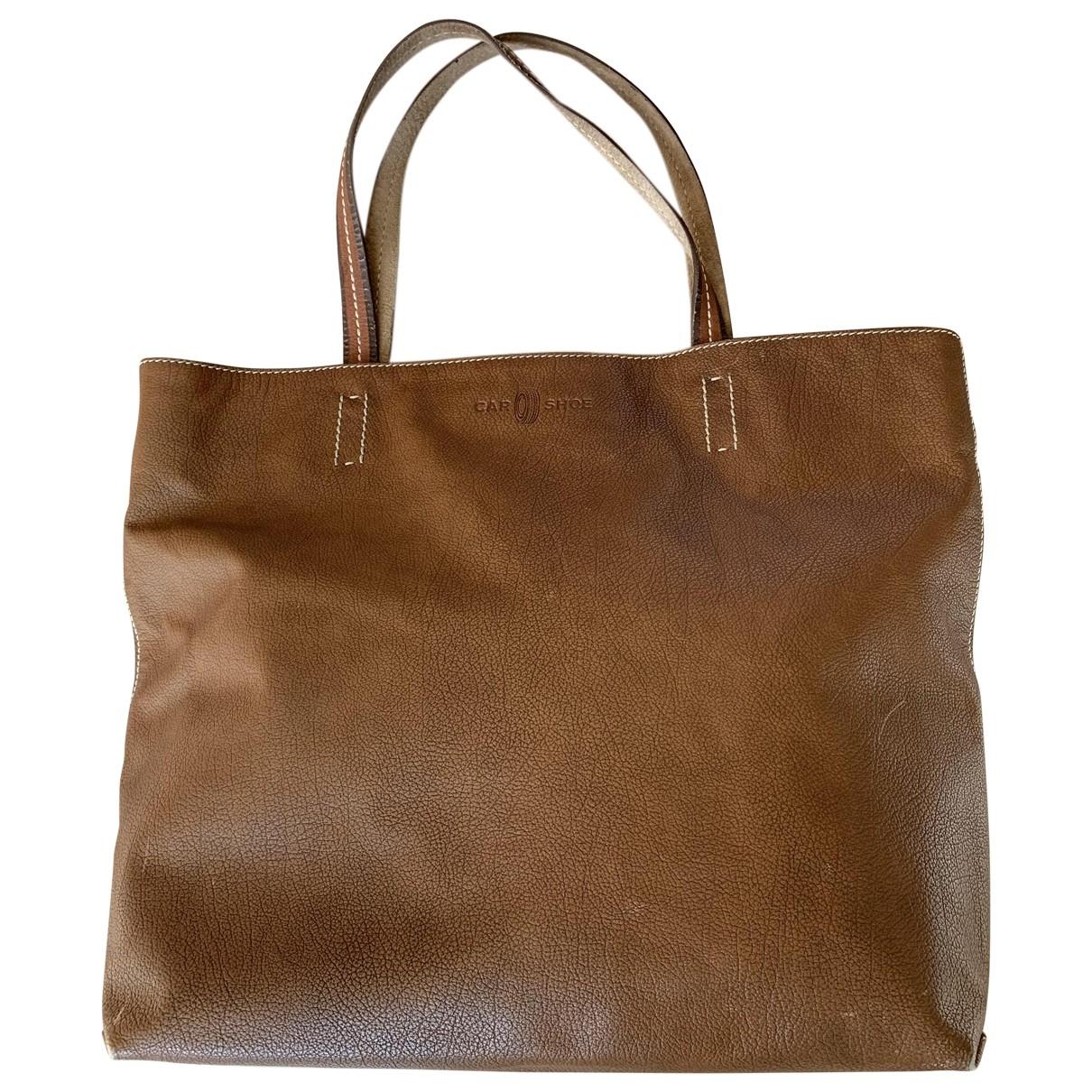 Carshoe - Sac   pour homme en cuir - marron