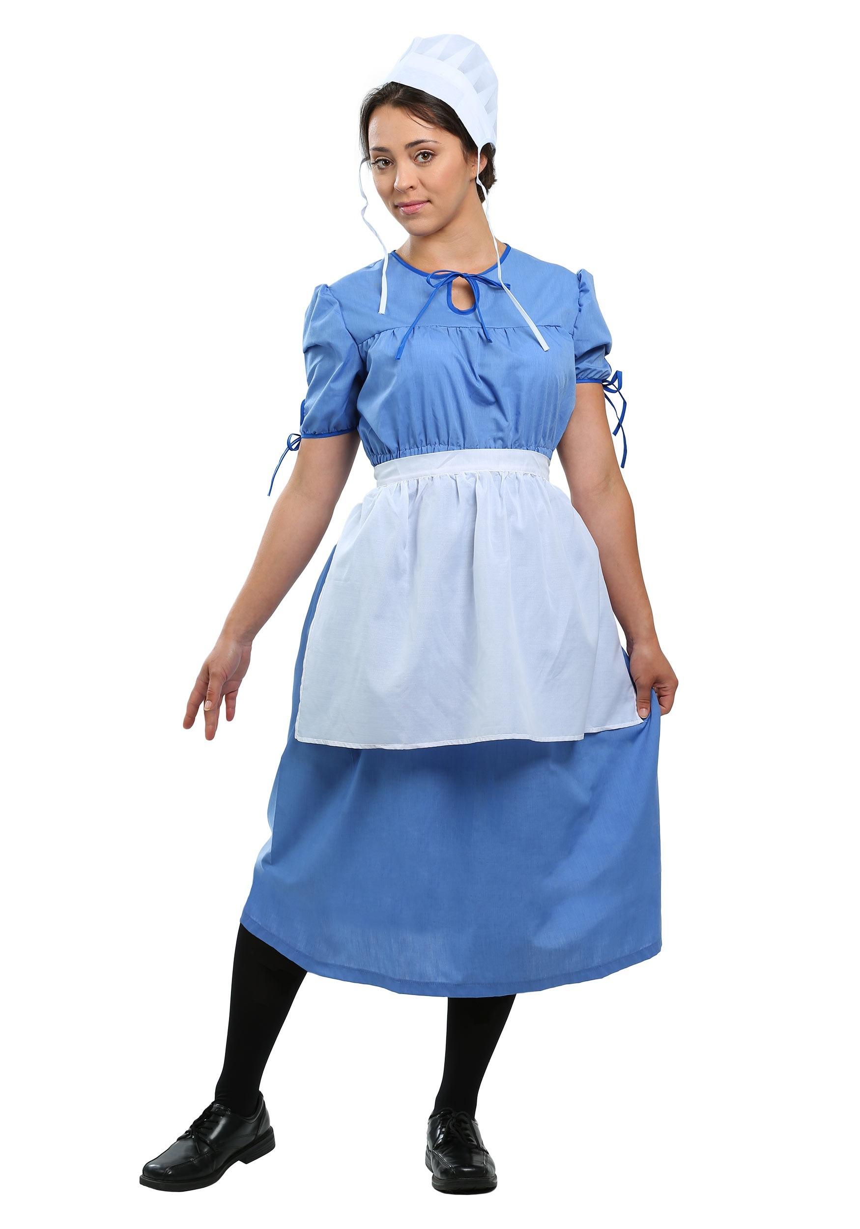 Adult Amish Prairie Woman Costume