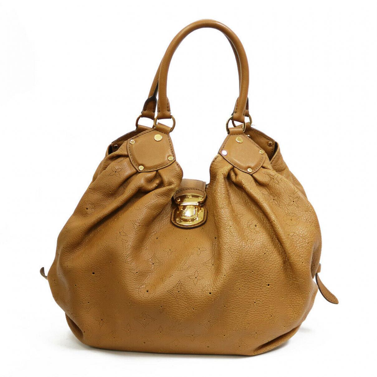 Louis Vuitton N Beige Leather handbag for Women N