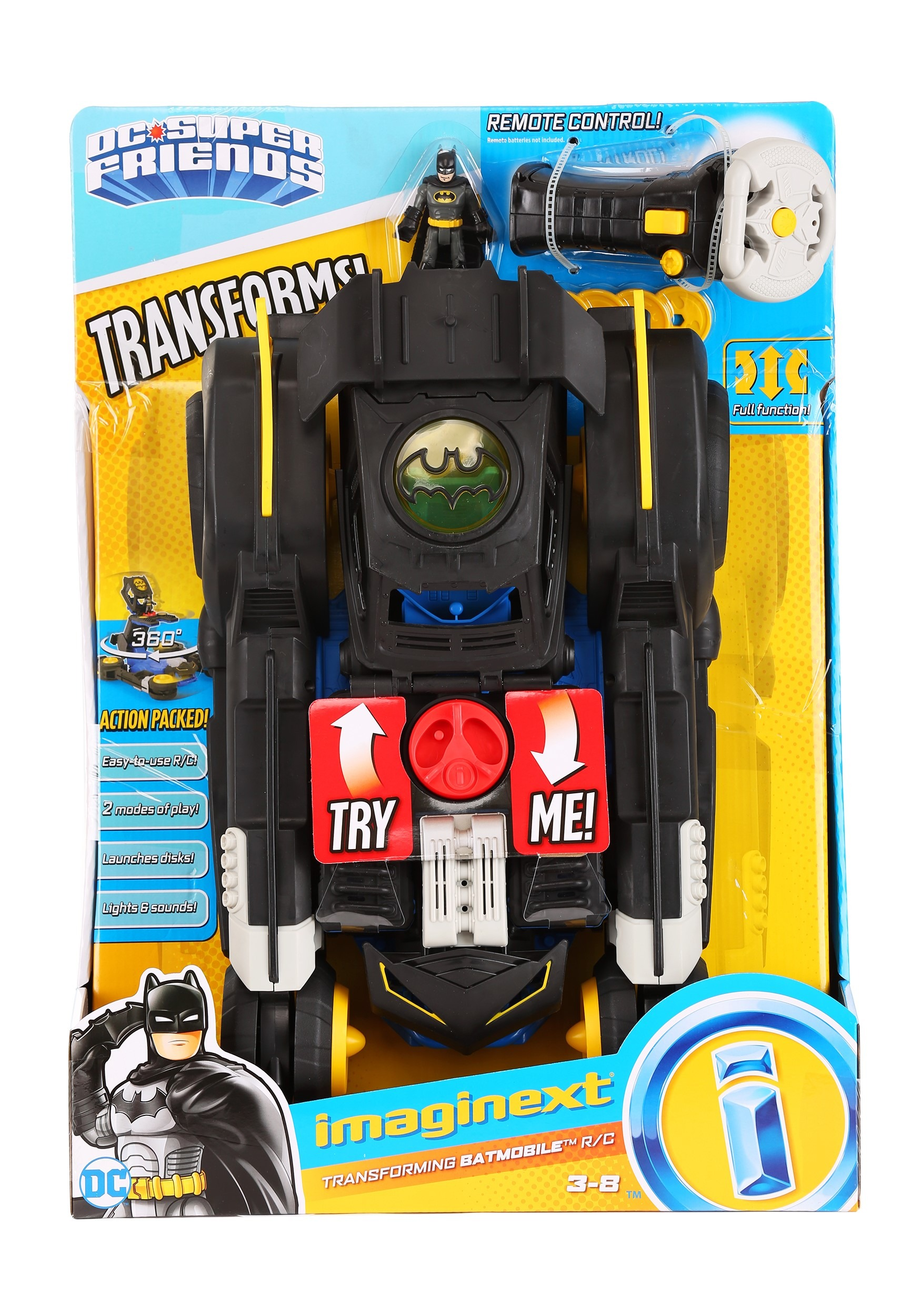 DC Batman Remote Control Ultimate Batmobile