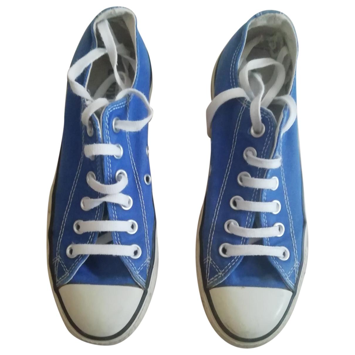 Converse - Baskets   pour femme en toile - bleu