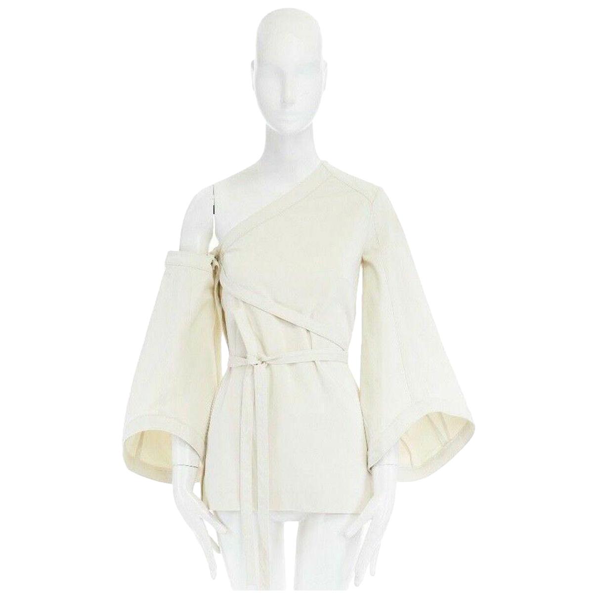 Rosie Assoulin - Top   pour femme en coton - ecru