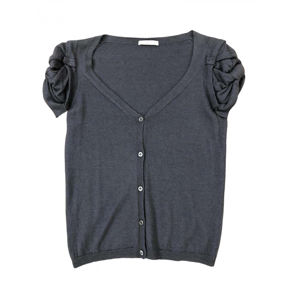 Prada - Pull   pour femme en cachemire - gris