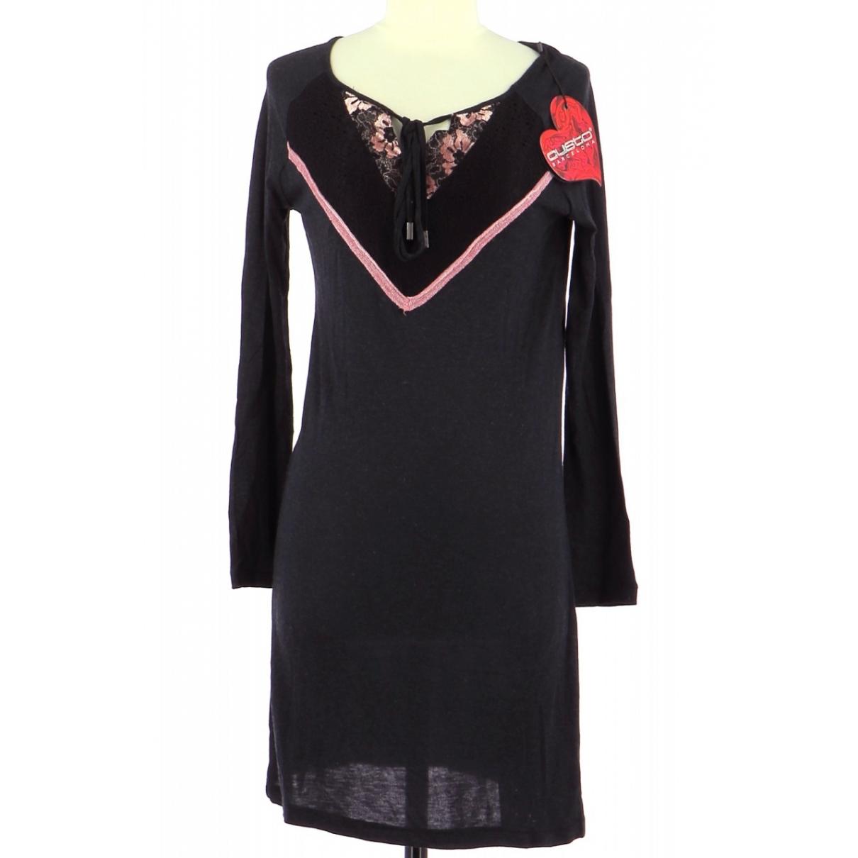 Autre Marque \N Kleid in  Schwarz Viskose