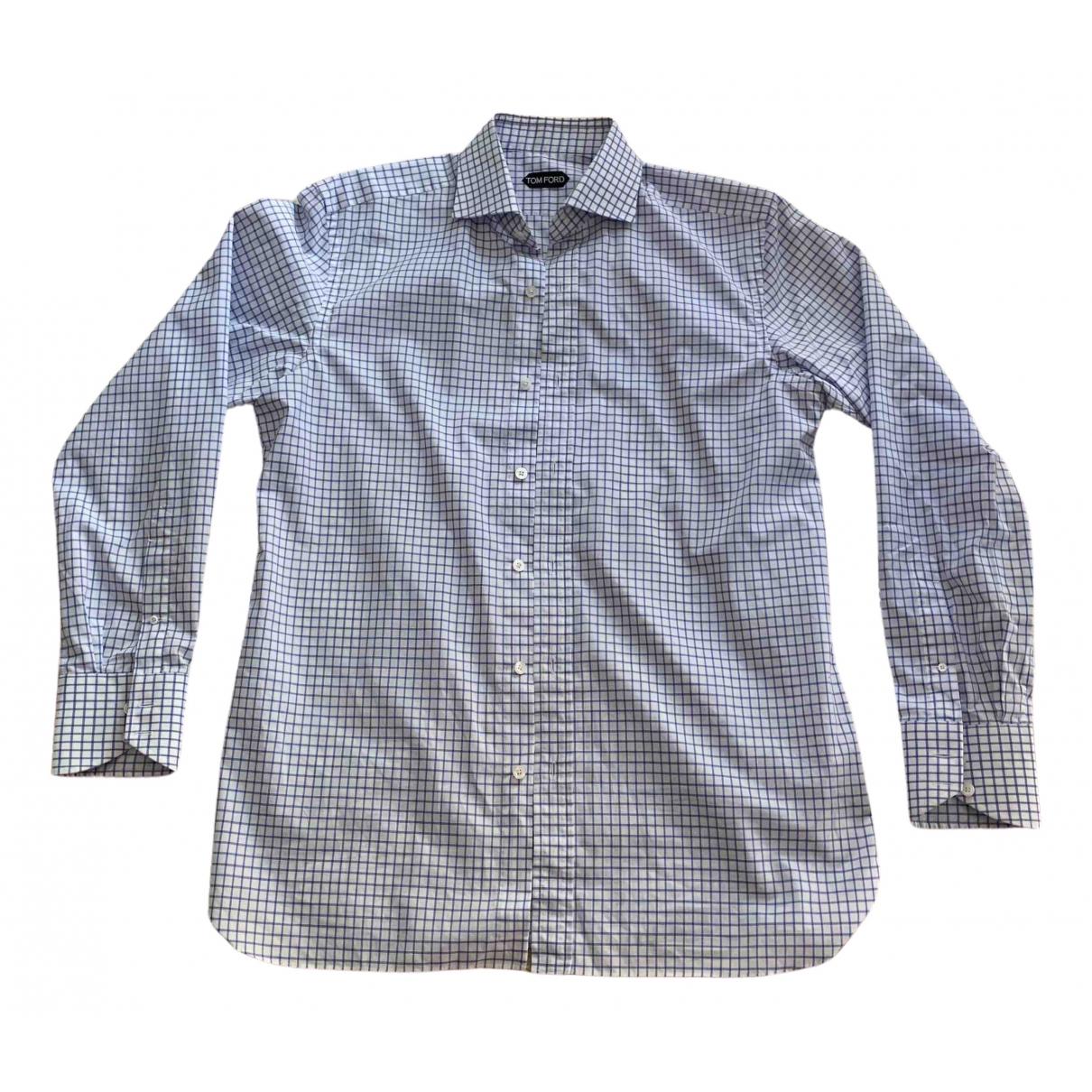 Tom Ford \N White Cotton Shirts for Men L International