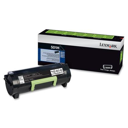 Lexmark 501H 50F1H00 Original Black Return Program Toner Cartridge