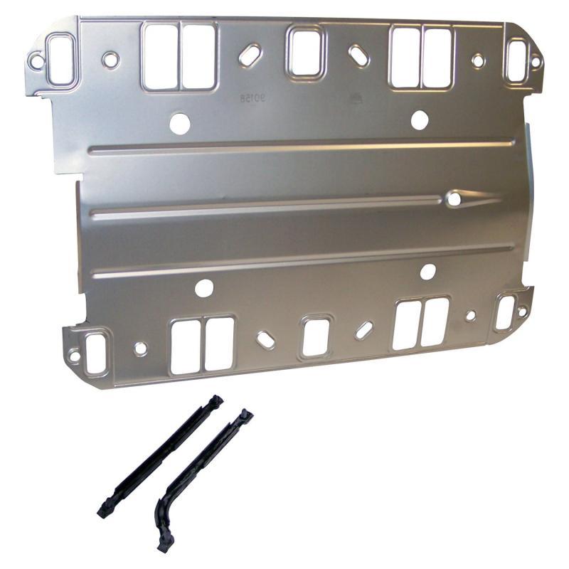 Crown Automotive J8125869 Jeep Replacement Intake Manifold Gasket Set for 71-81 CJs w/ 5.0L, 71-91 SJ, J-Series w/ 5.9L Jeep N/A