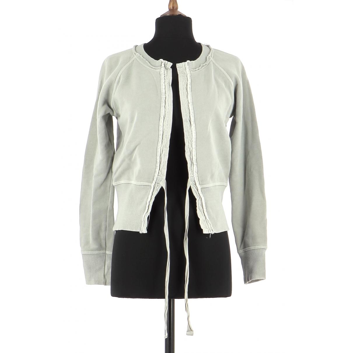 Essentiel Antwerp \N Grey Cotton Knitwear for Women 36 FR