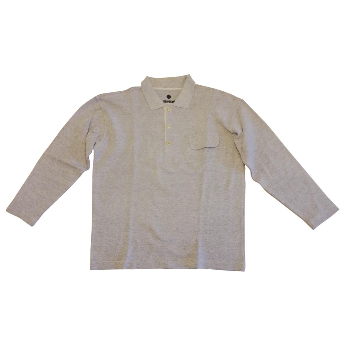 Moschino - Polos   pour homme en coton - gris