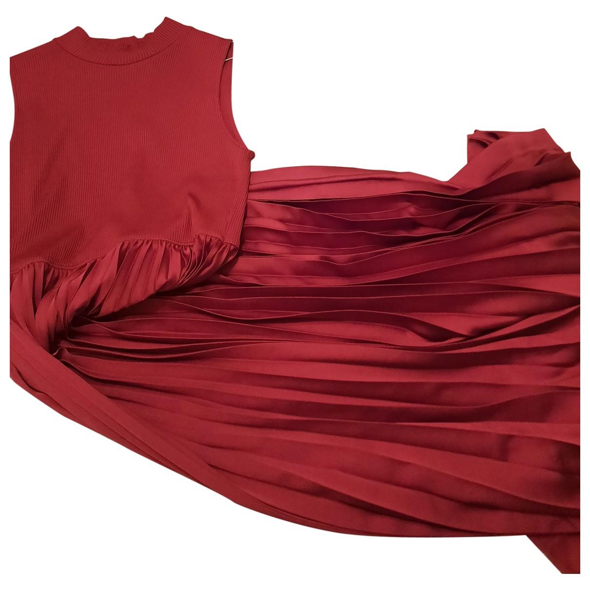 Zara \N Burgundy dress for Women M International