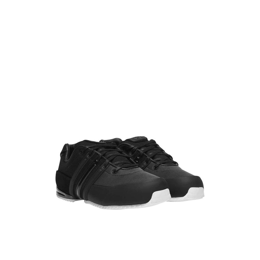 Y-3 Sprint Leathers Trainers Colour: BLACK, Size: 8.5
