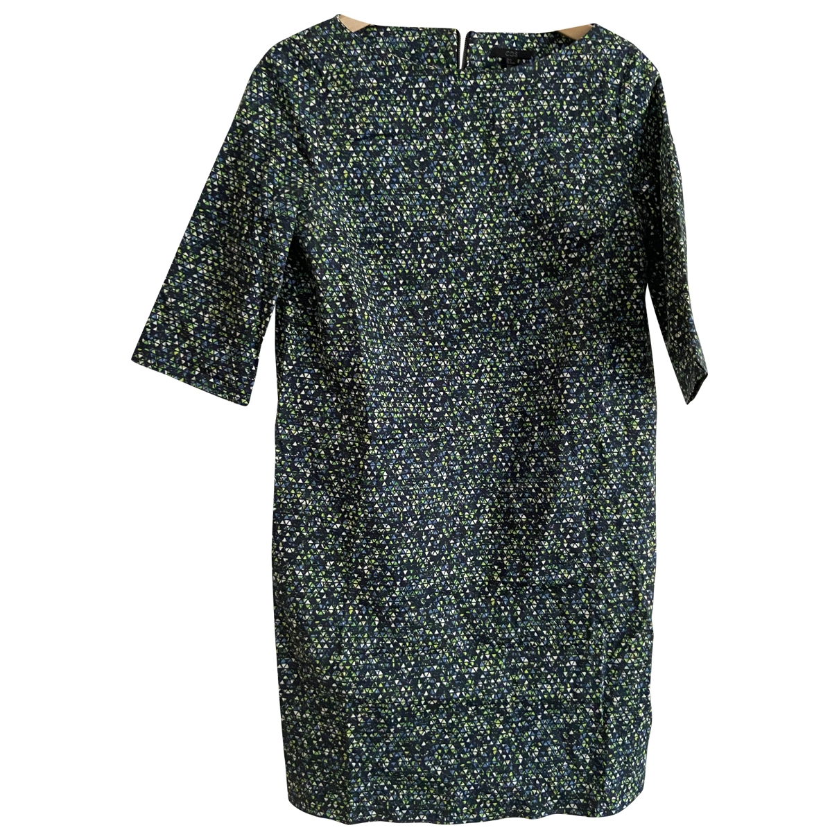 Cos - Robe   pour femme en coton - multicolore