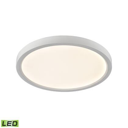CL781434 Ceiling Essentials Titan 15-inch Flush Round Mount in White - Integrated