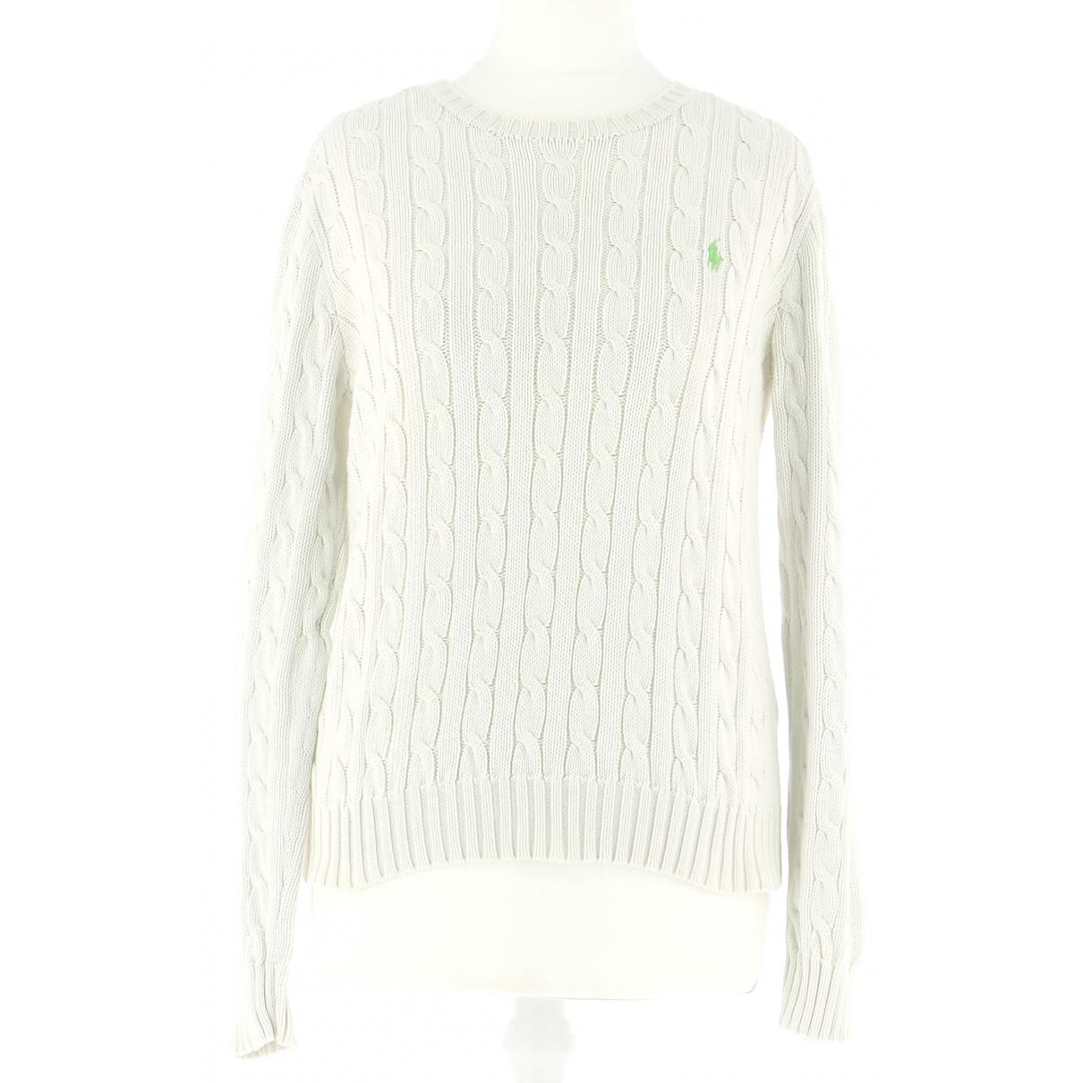 Ralph Lauren \N Pullover.Westen.Sweatshirts  in  Beige Baumwolle