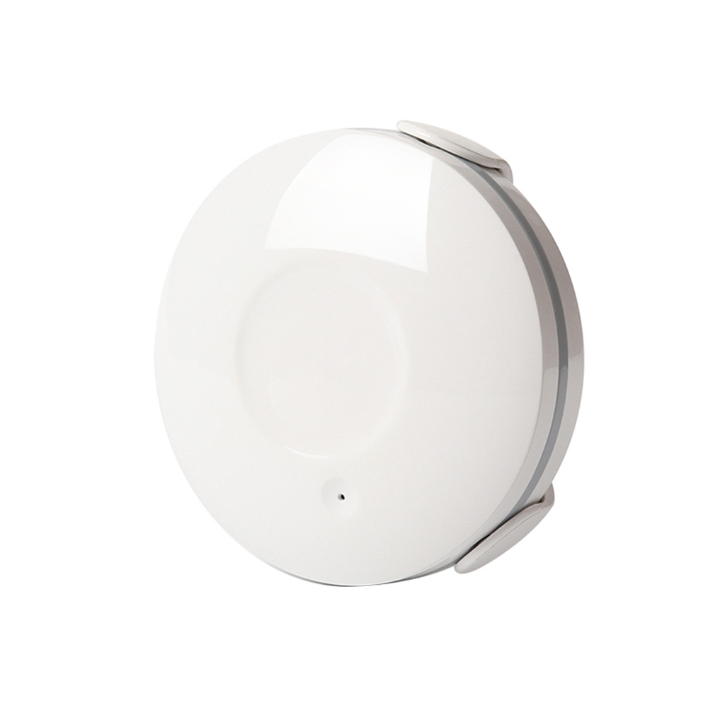 Geekbes NAS-WS02W Smart Water Flood Sensor Water Leakage Wifi Replaceable Battery Waterproof APP Control - White