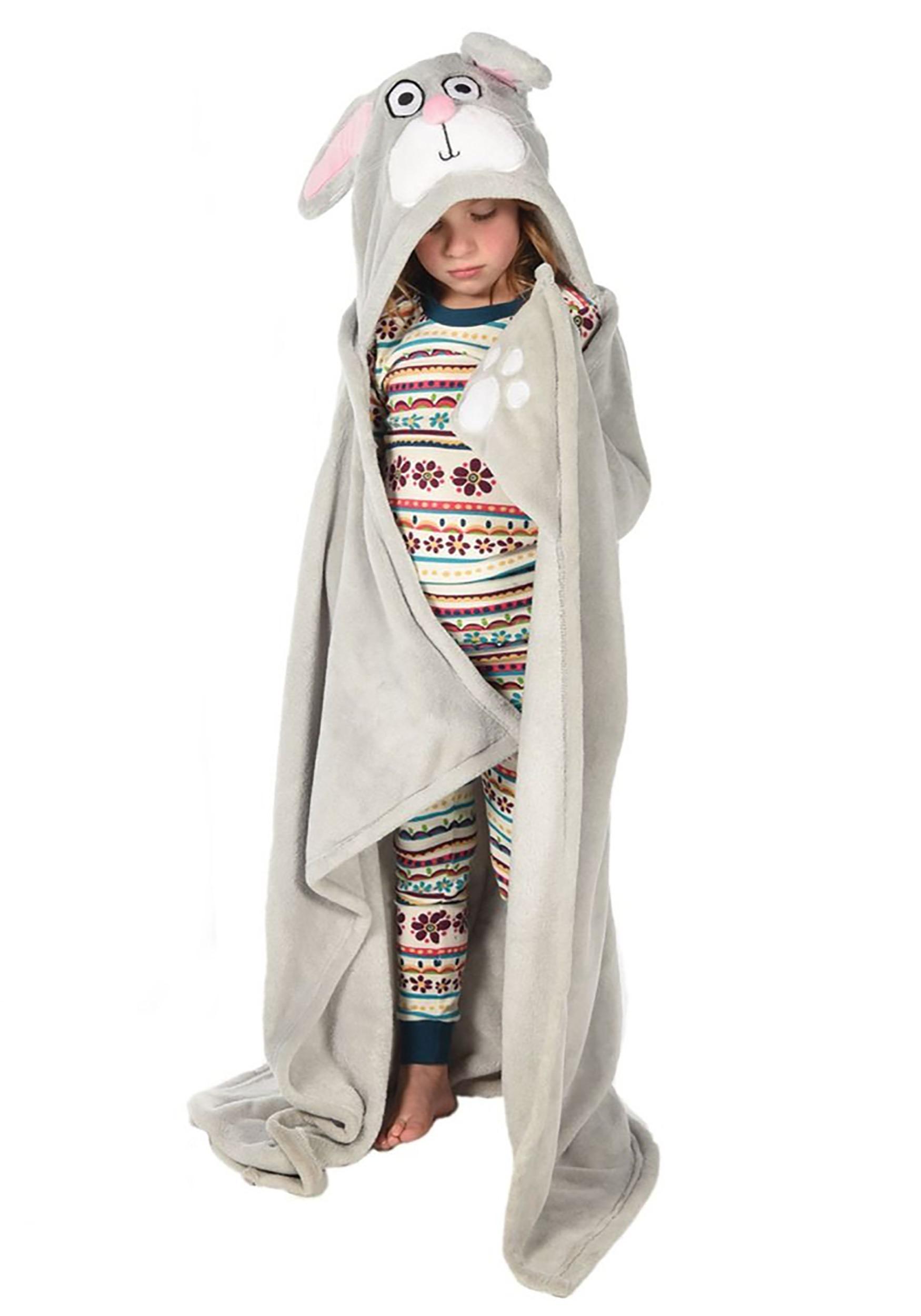 Kids Bunny Critter Blanket