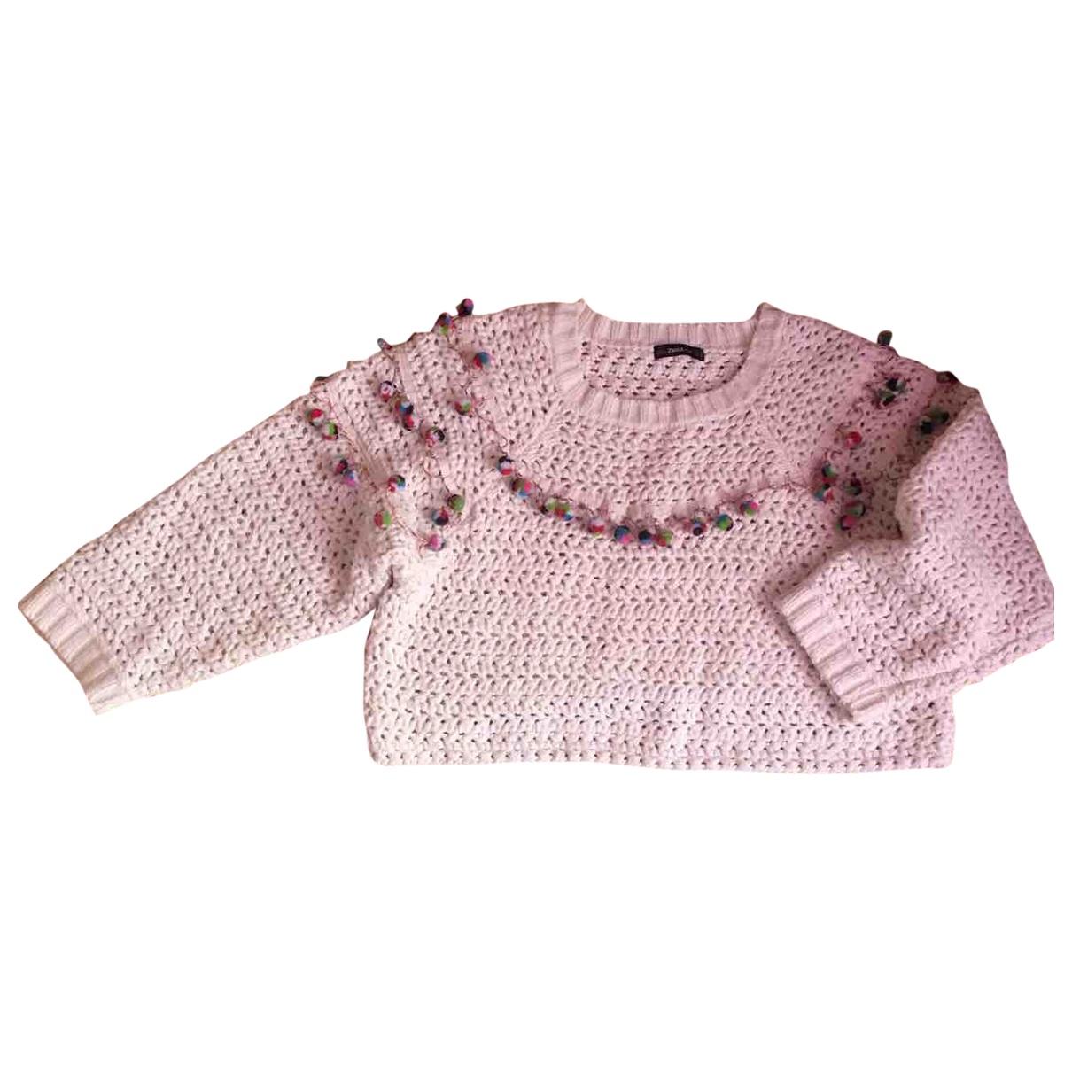Zara \N Beige Knitwear for Women 42 IT