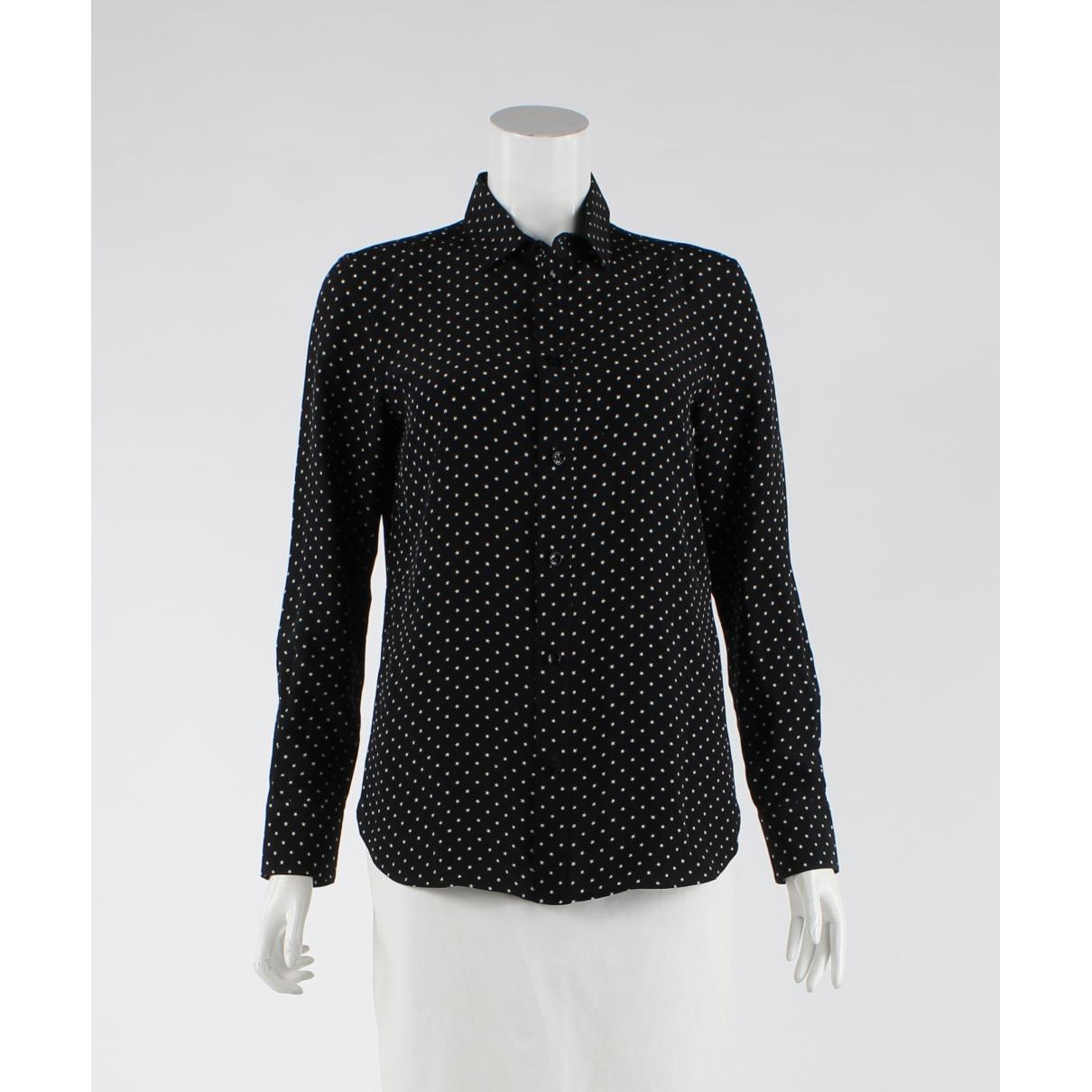 Saint Laurent N Black Silk  top for Women 36 FR
