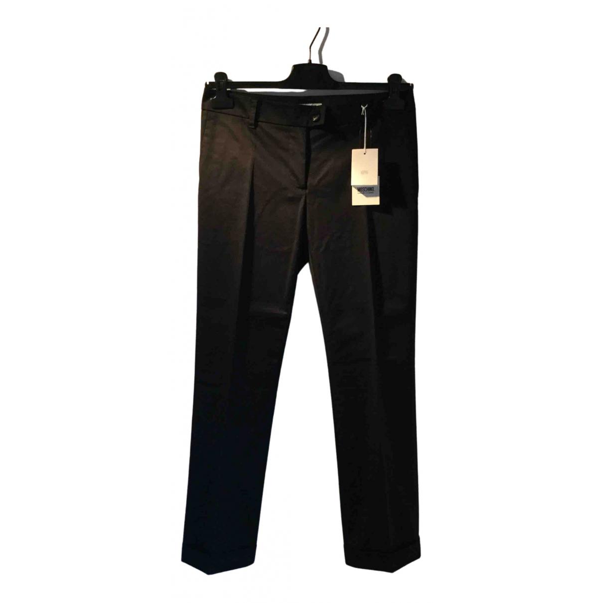 Moschino Cheap And Chic - Pantalon   pour femme en coton - noir