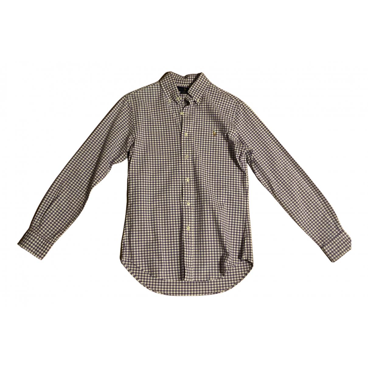 Ralph Lauren N Purple Cotton Shirts for Men S International