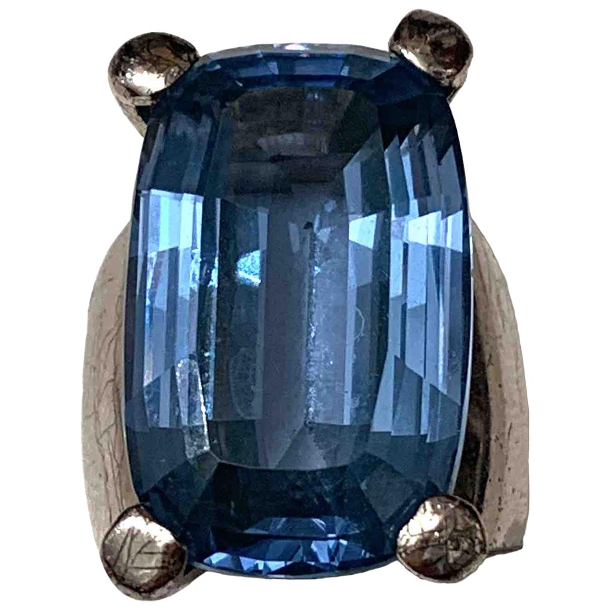 Swarovski - Bague   pour femme en metal - bleu
