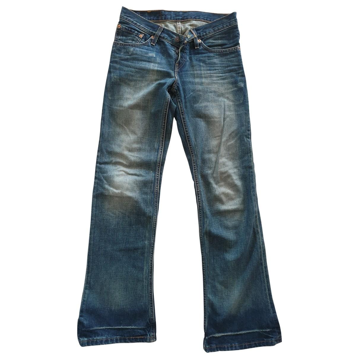 Levi's \N Blue Denim - Jeans Jeans for Women 29 US