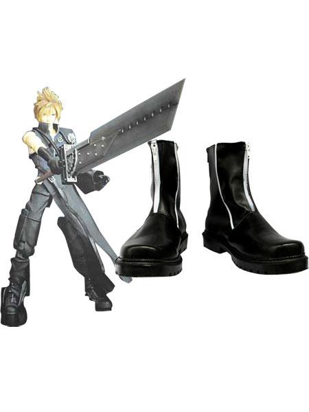 Milanoo Peculiar Final Fantasy VII Cloud Strife Cosplay Boots Halloween