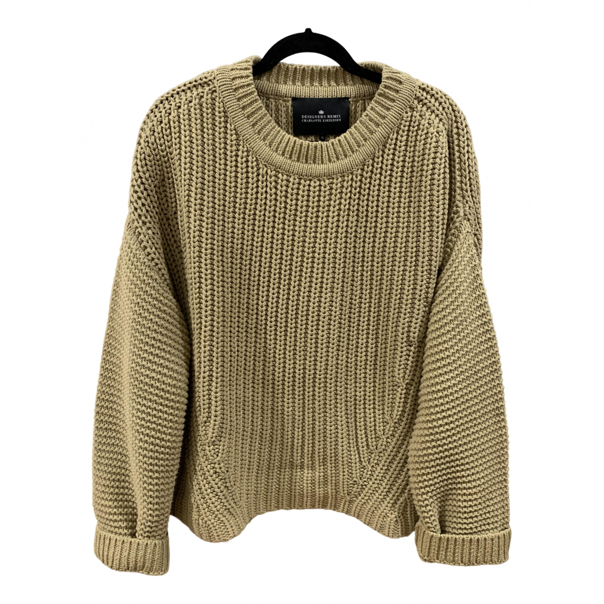 Designers Remix \N Beige Cotton Knitwear for Women S International