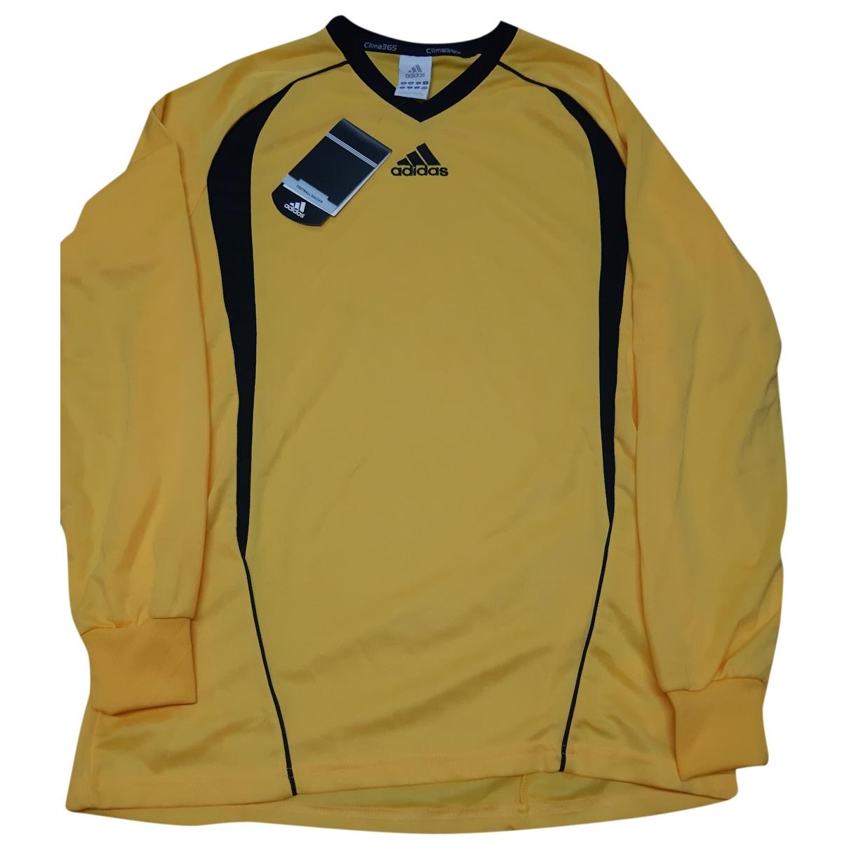 Adidas - Tee shirts   pour homme - jaune