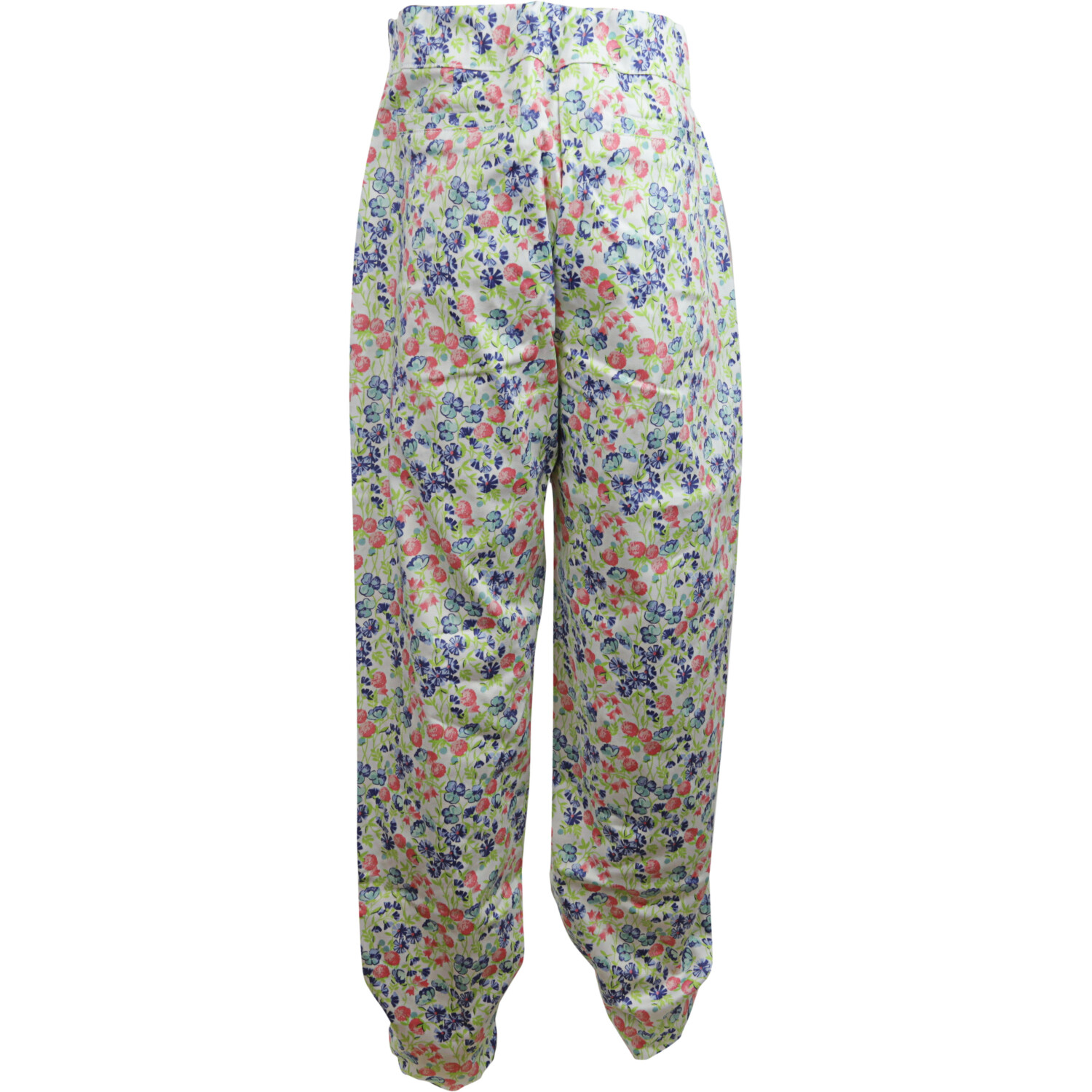 Janie And Jack White Floral Ditsy Pant Pants - 3-6 Months
