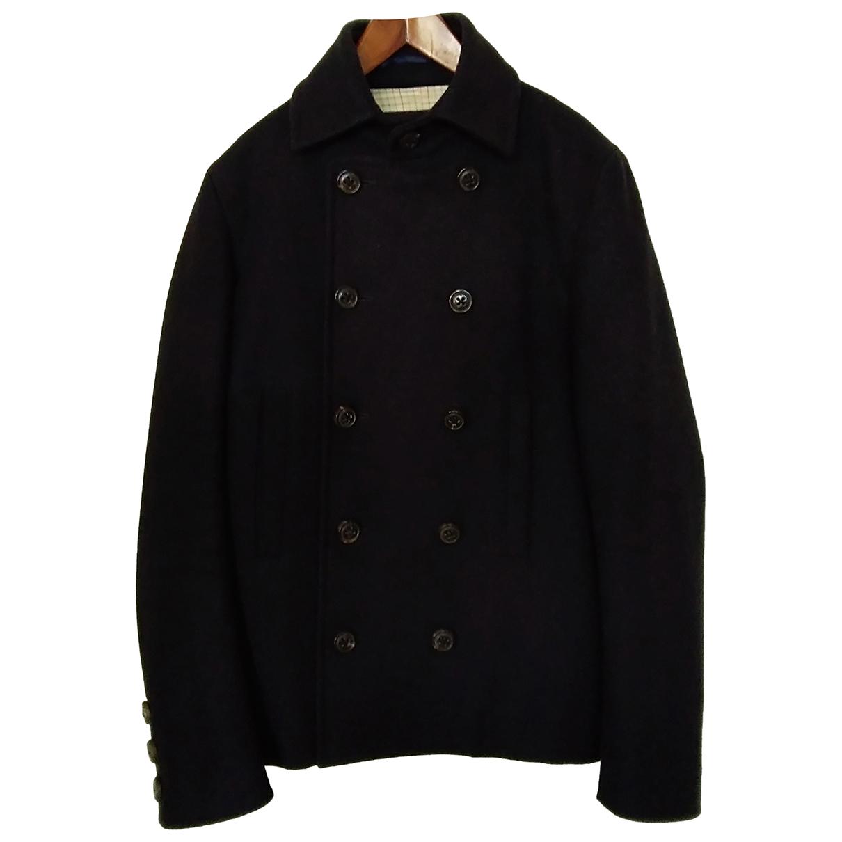Dsquared2 - Manteau   pour homme en laine - bleu