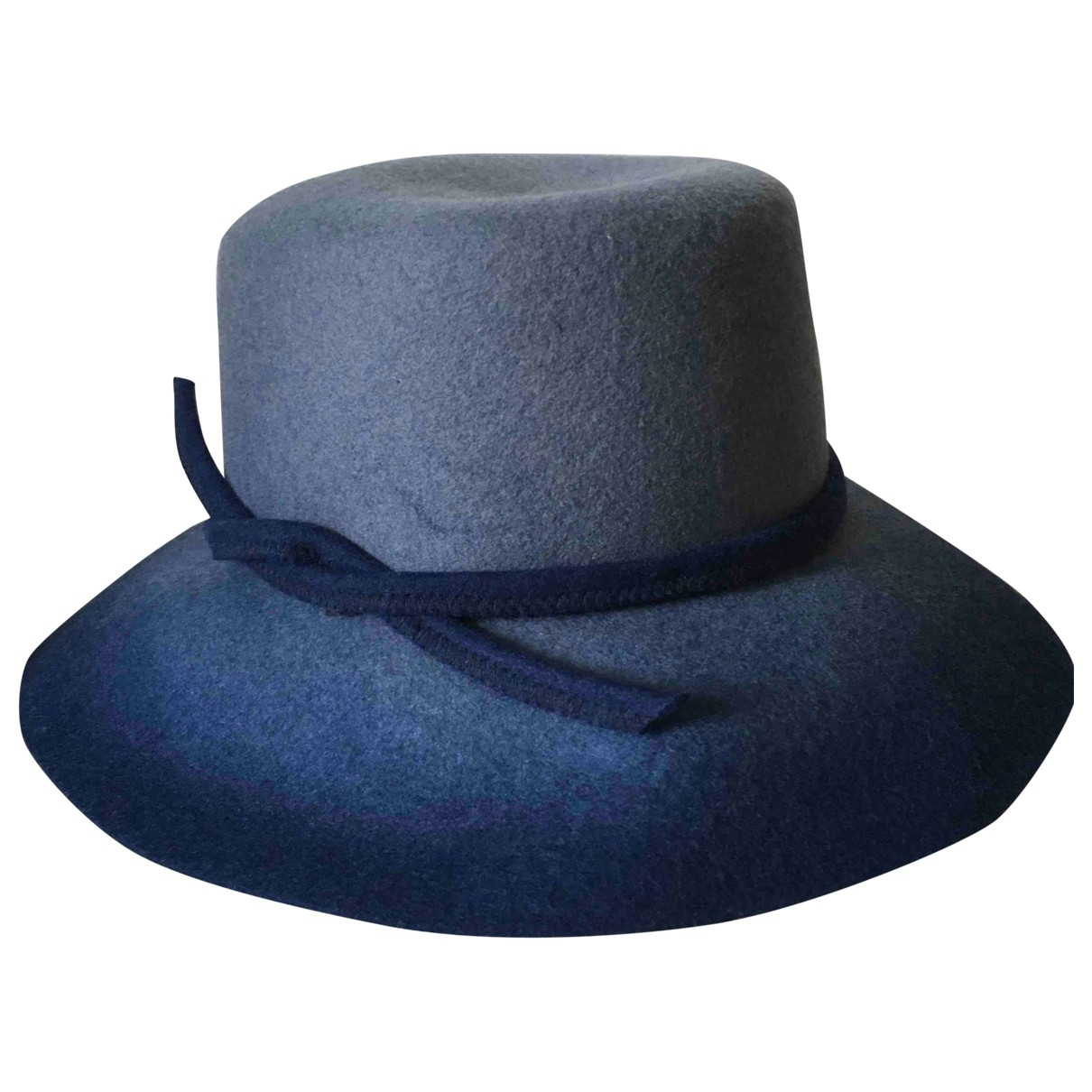 Non Signé / Unsigned \N Blue Wool hat for Women M International