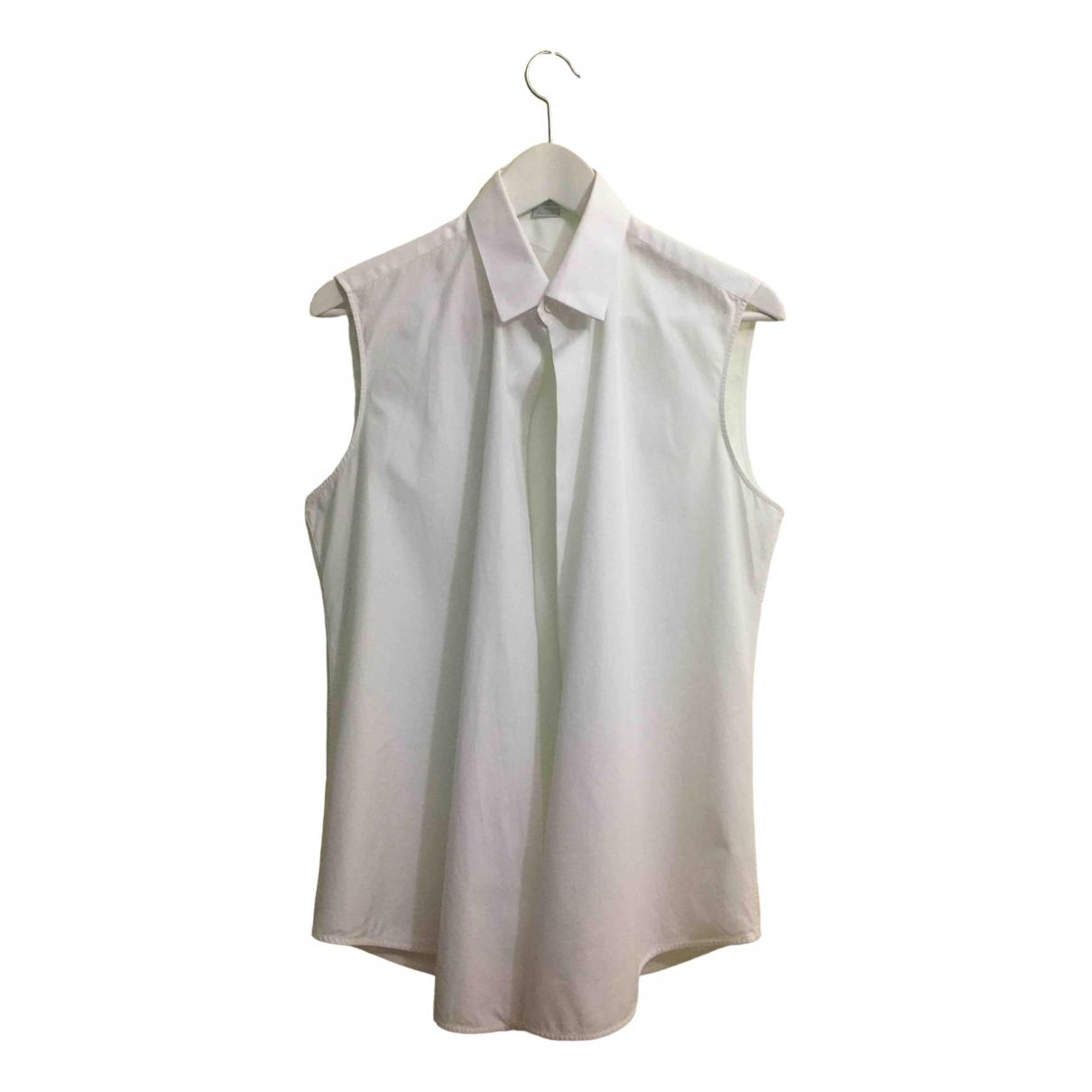 Balenciaga \N White Cotton Shirts for Men M International