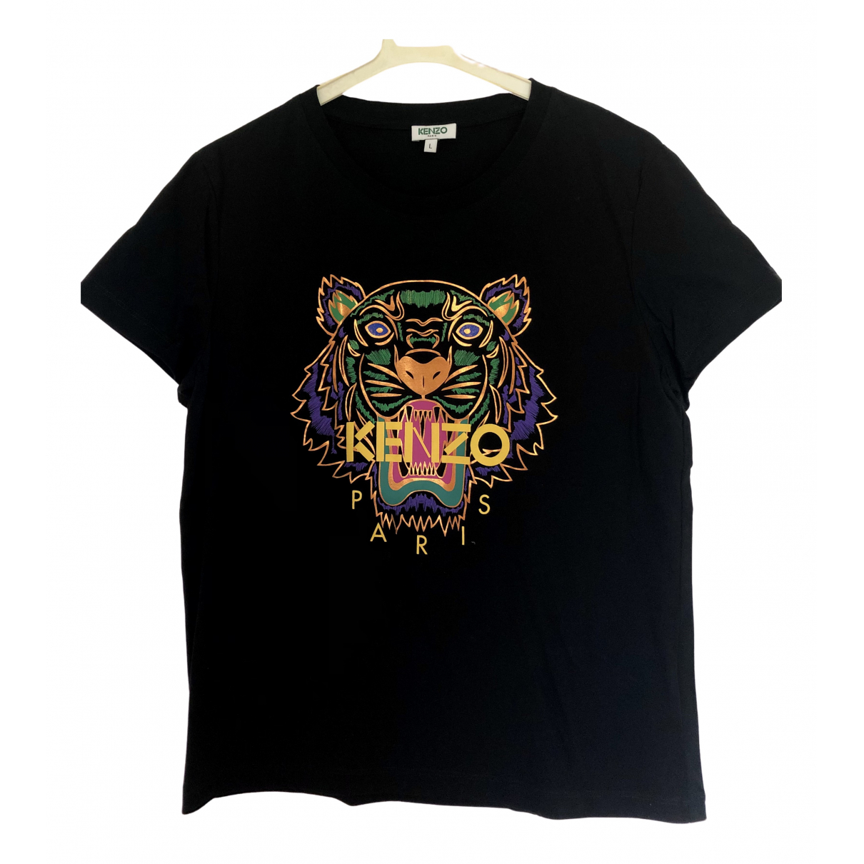 Kenzo N Black Cotton  top for Women L International