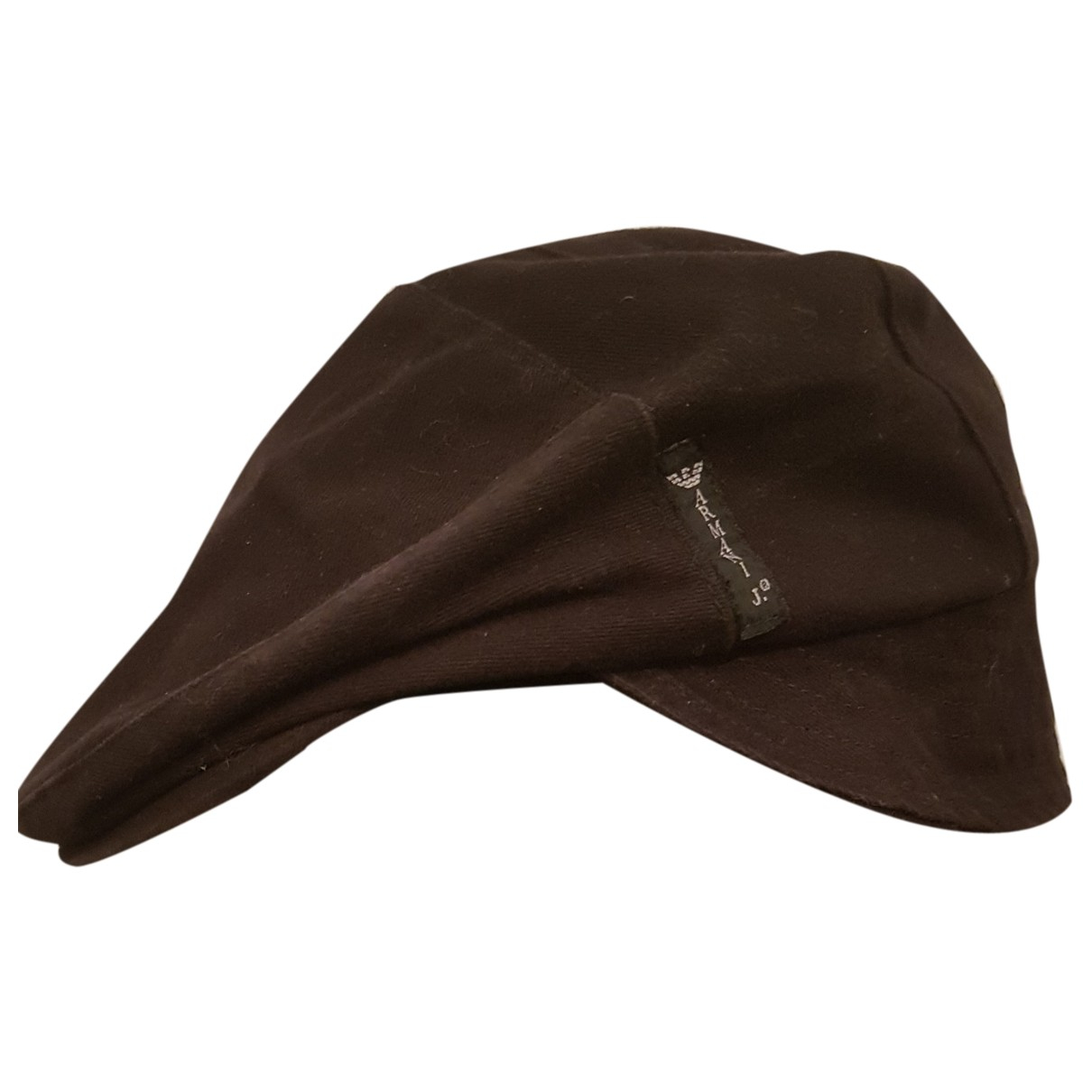 Armani Jeans N Brown Cotton hat & pull on hat for Men 56 cm