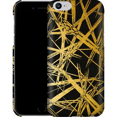 Apple iPhone 6s Plus Smartphone Huelle - Strokes Gold Black von Khristian Howell