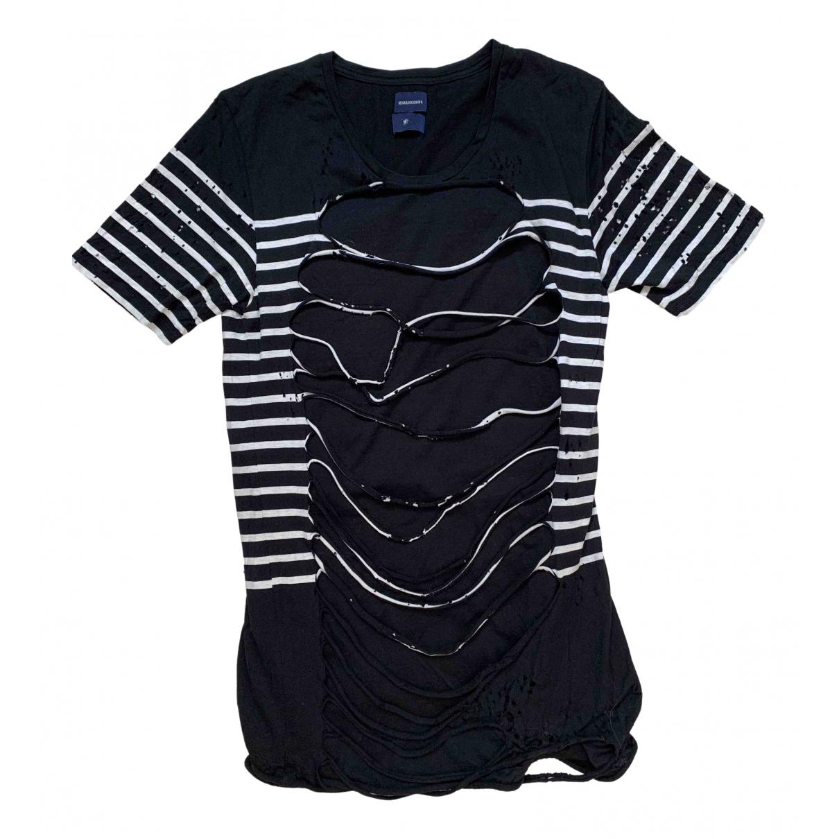 Miharayasuhiro - Tee shirts   pour homme en coton - noir